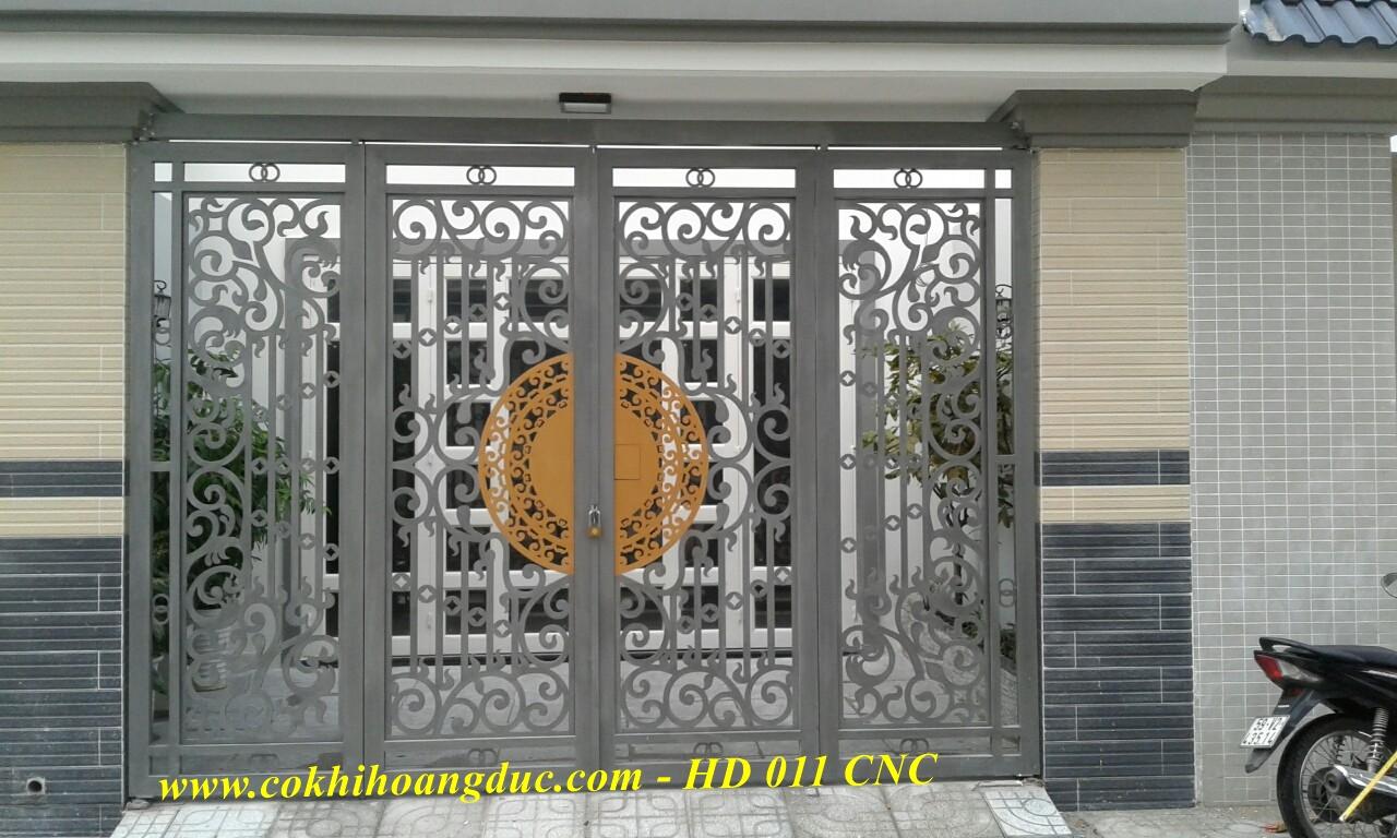 CỬA CỔNG - HD 011 CNC