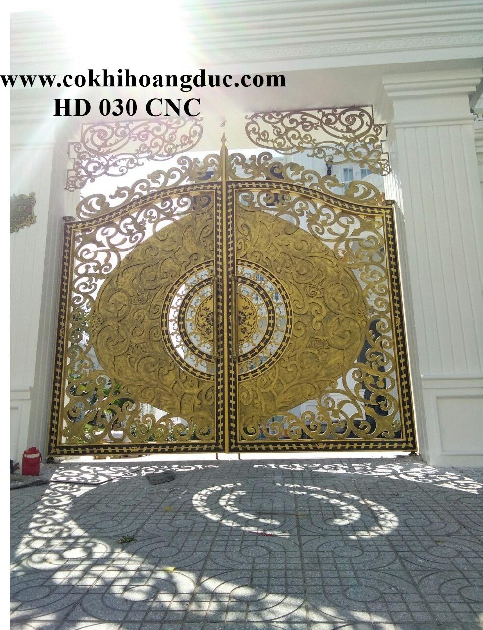 CỬA CỔNG - HD 030 CNC